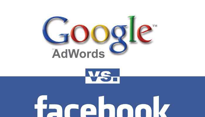 Facebook Vs Google Adword